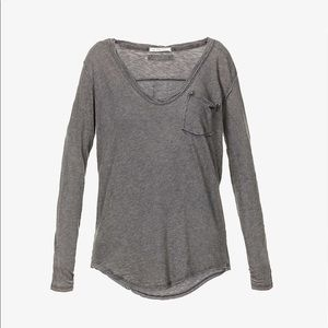 We The Free Relaxed Fit Cotton Blend Top